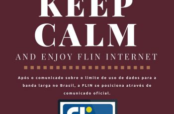 keep calm and enjoy FLIN Internet